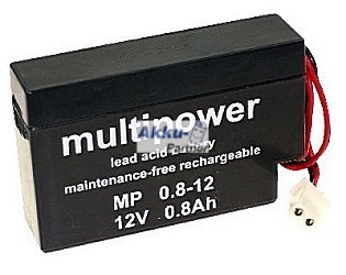 Multipower Mp08 12s 12v 08ah Bleiakku Akku Partner